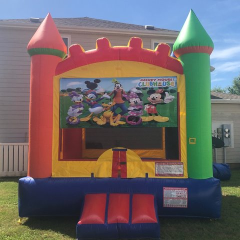 Mickey Mouse Clubhouse Bounce House Rental