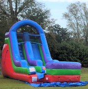 16Ft Retro Dry Slide Rental