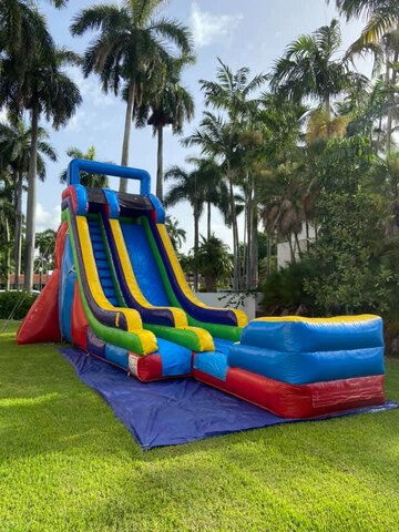 24 ft multi color slide