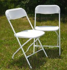 White Adult Folding Chairs