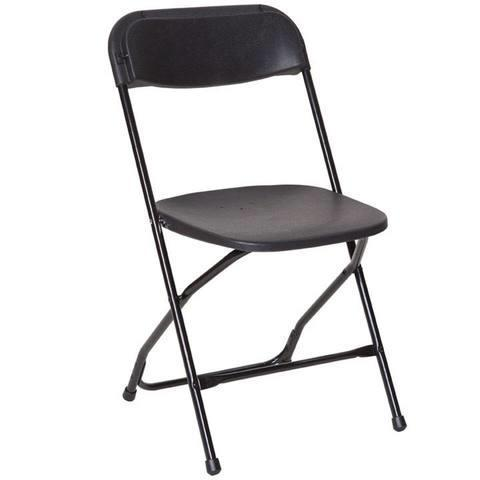 Black Adult Folding Chairs