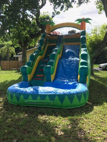 16ft Tropical Water Slide