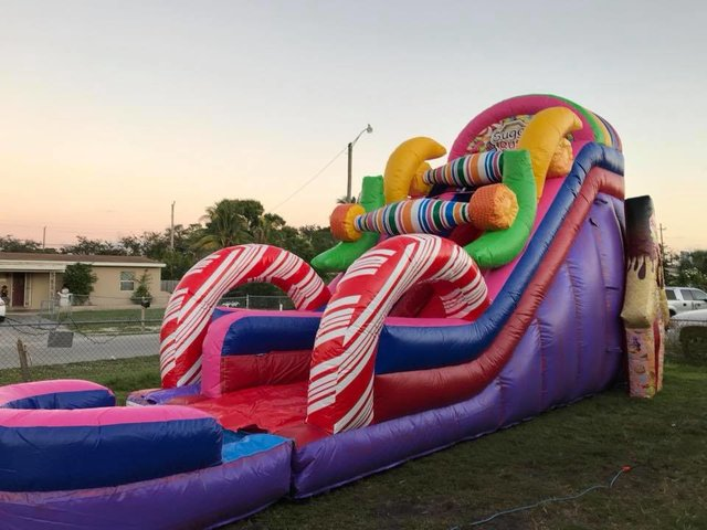 20ft Candy Land WaterSlide