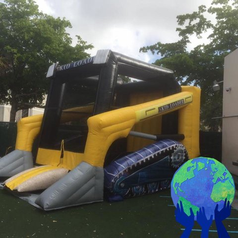 Construction Bounce House