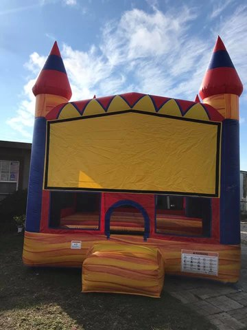 13x13 Fire Ball Bounce House