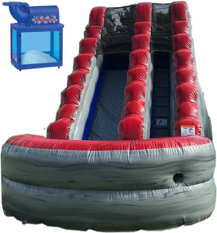 15 ft Captain American Water Slide/wit sno cone