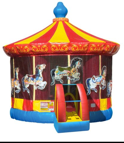 Circus Carousel bouncer
