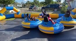 Bumper cars grass set up (3 hour rental)