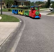 Trackless Train 3 carts