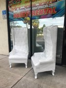 One White Throne Chair