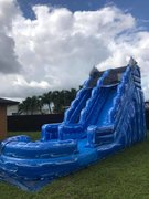 17 ft dolphin water slide (pool)