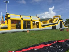 100ft Toxic Obstacle Course