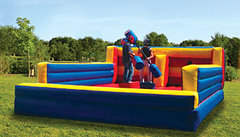 Bungee run & Joust Twister