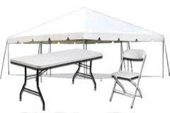 20x20 tent special (rectangular tables)