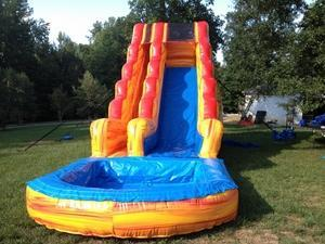A Bounceable Time Inflatable Slide