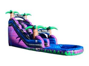 18ft Purple Paradise Water Slide