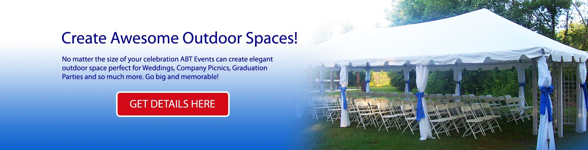 Tent Table Chair Rentals