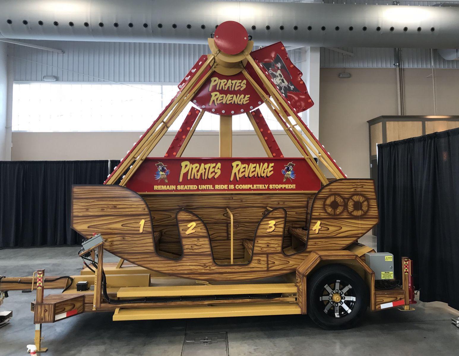 Pirates Revenge Swinging Amusement Ride Rental