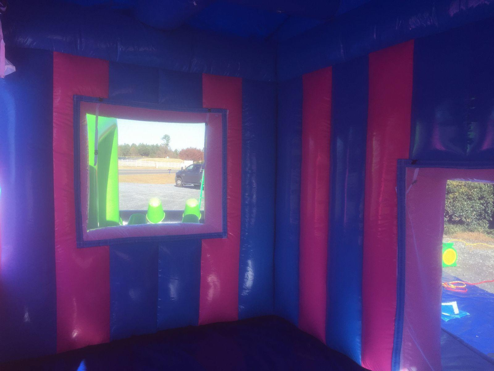 carnival treat shop fun food concession stand bounce house party