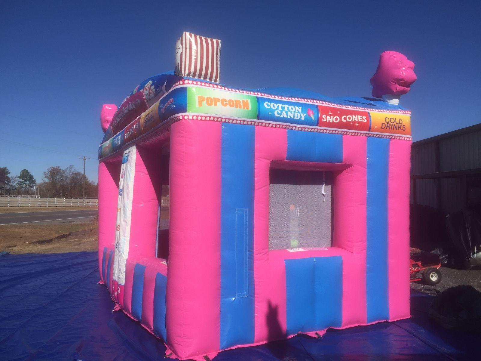 Rent A Carnival Treat Shop From A Bounceable Time