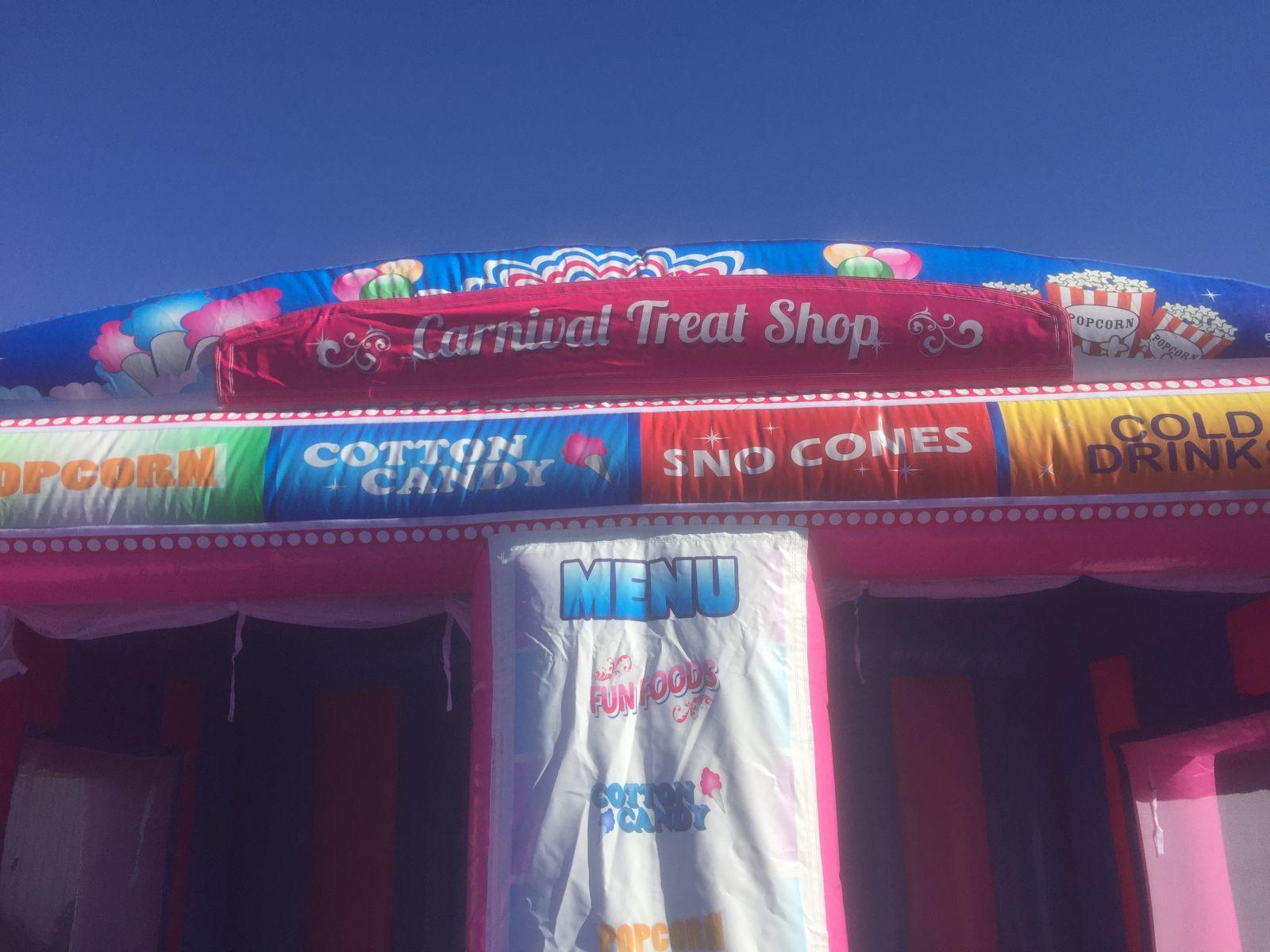 Carnival Treat Shop Fun Food Concession Stand Bounce House