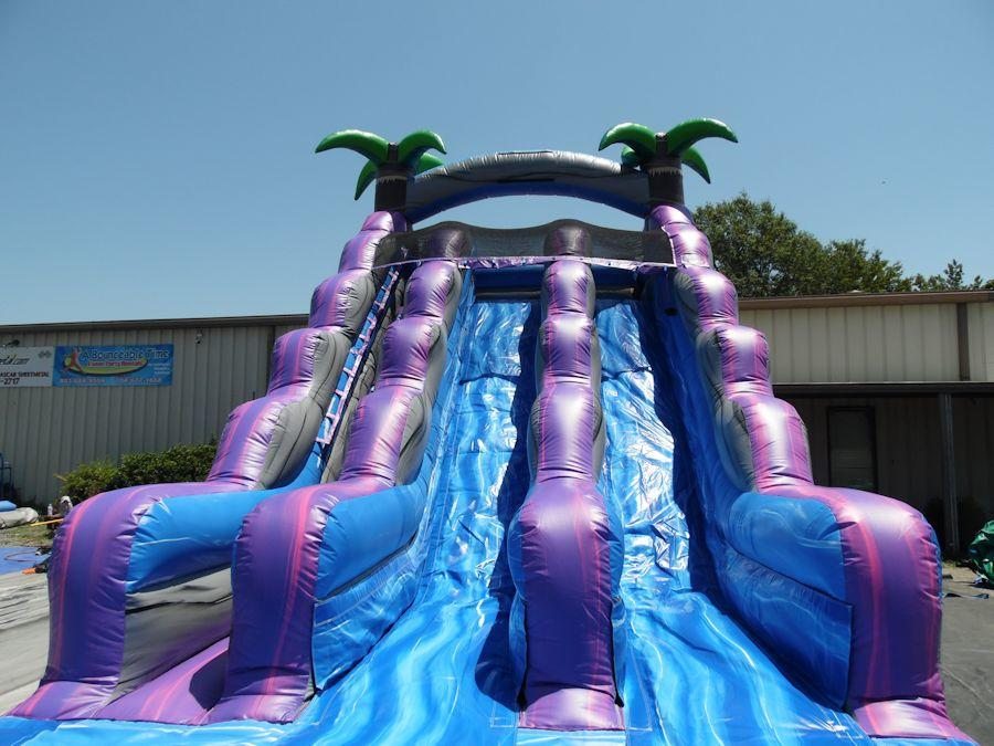 Rent A 18 Dual Lane Water Slide From A Bounceable Time In