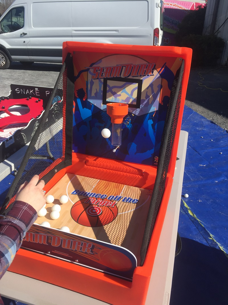 Slam Dunk Carnival Game Bounce House Amp Party Rentals