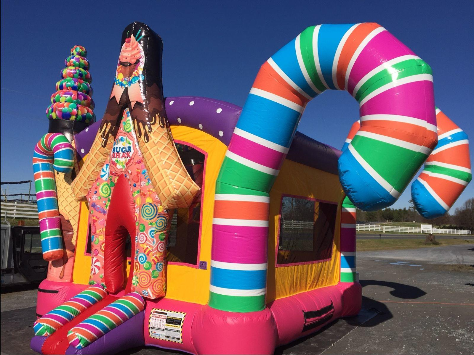 Sugar Shack Bounce House Party Rentals