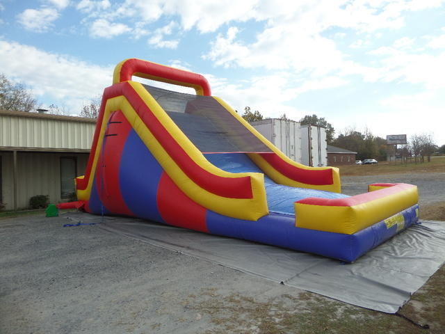 16 Ft Rock Mountain Dual Lane Dry Slide