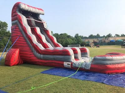 22' Liquid Hot Magma Water Slide