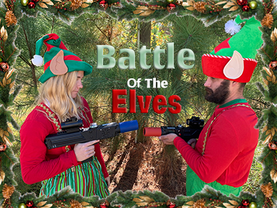 Mobile Laser Tag: Battle of The Elves Holiday Package