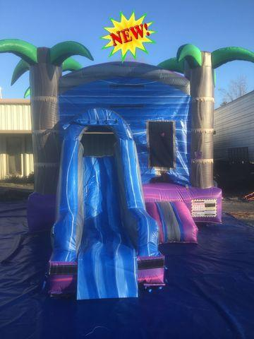 Mini Purple Crush Combo Water Slide