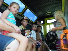 Fire Truck Party ride-along
