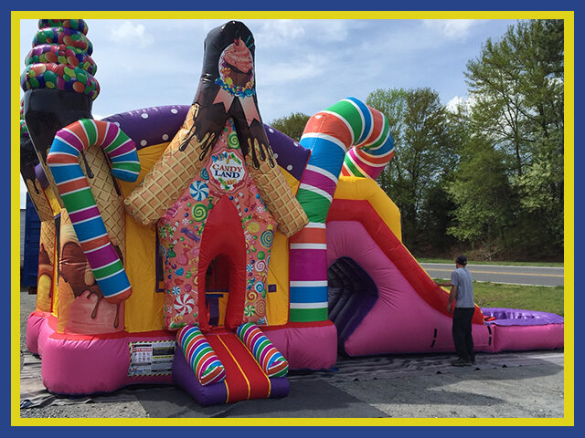 Candy Land Combo Water Slide