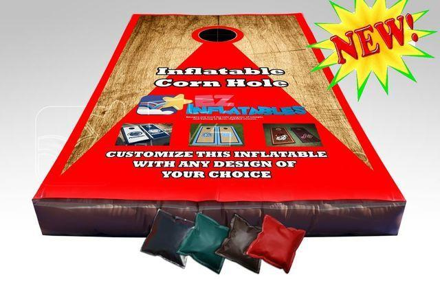 Lifesize Cornhole Inflatable Game
