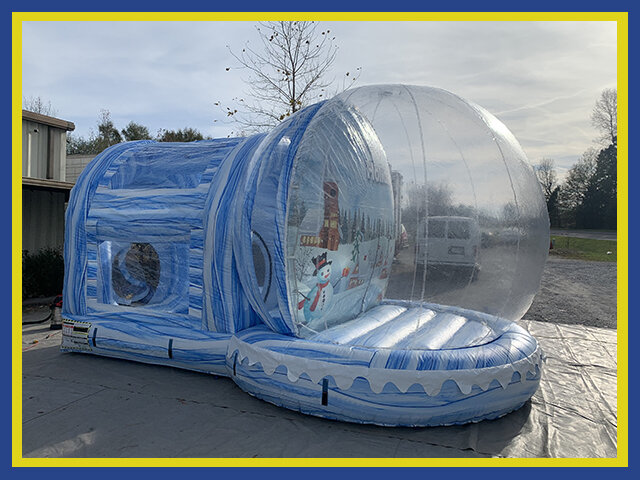 Deluxe Life-Size Giant Inflatable Novelty Human Snow Globe Rental