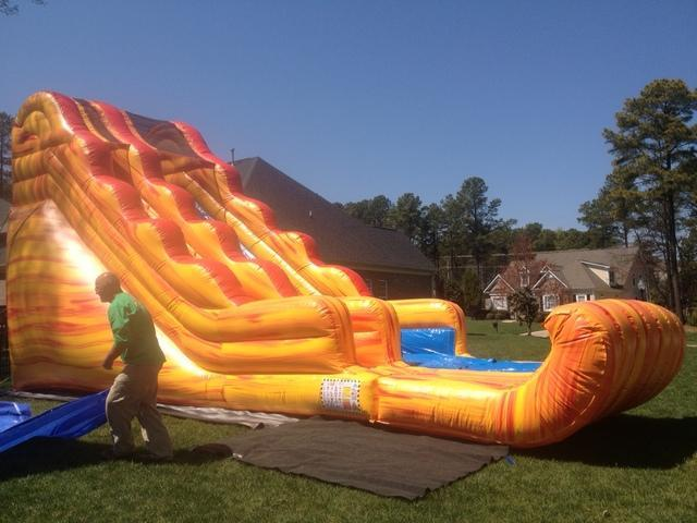 FIERCE 18 Ft DRY SLIDE