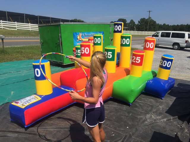 Giant Hula Hoop Ring Toss Interactive Game