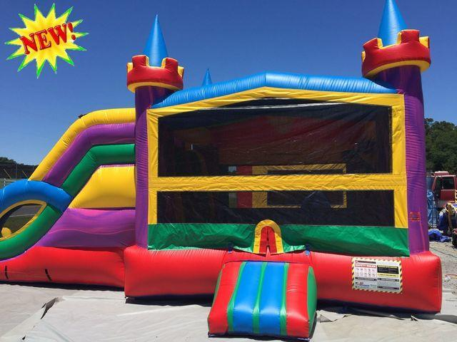 Lucky Combo Bounce House Amp Party Rentals Abounceabletime