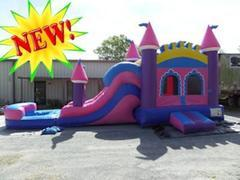Princess Castle Water Slide