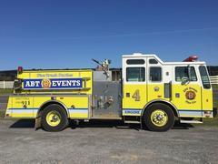 1st Alarm Fire Truck Party. Engine 4 Dry Event Rental