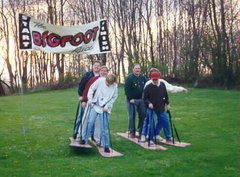 NEW Big Foot Races Giant Game Rental - Hysterical Fun