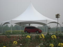 30' High Peak Hexagon Tent