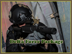 Mobile Laser Tag: Delta Force All Inclusive Package