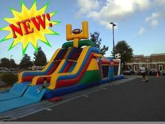 New Sports Themed 41ft Obstacle with Slide
