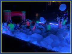 LED Foam Pit Party Rental