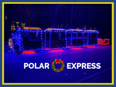 Polar Express Trackless Train