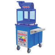 SNO-KONE MACHINE WITH ICE CHEST