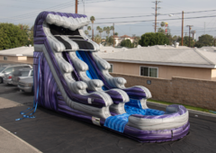 18' Midnight Crush Water Slide