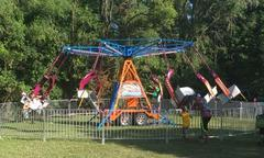 Amusement Carnival Swing Ride 16 player